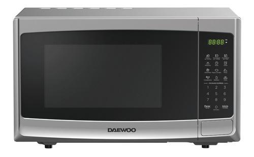 Imagen 1 de 1 de Daewoo Horno Microondas 1.1 Pies Silver Dmdp11s2bg