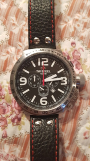 Reloj Tw Steel Chronograph Sumergible Oversize Impecable