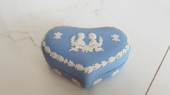 Porta Joias Porcelana Wedgwood Casamento Diane X Charles