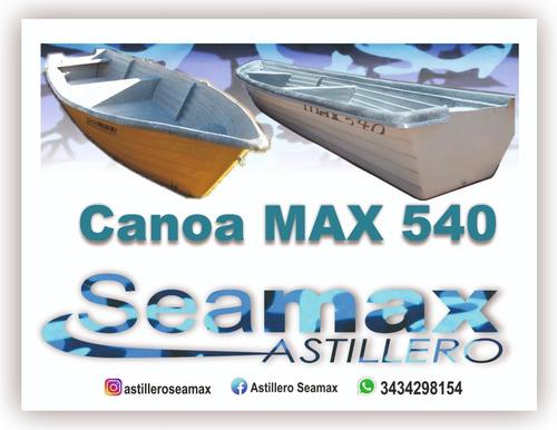 Canoa Max 540 Hab A Remo No Matrícula