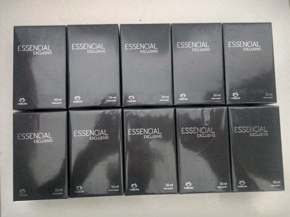 Essencial Exclusivo Masculino - 50ml Kit Com 10 Unidades