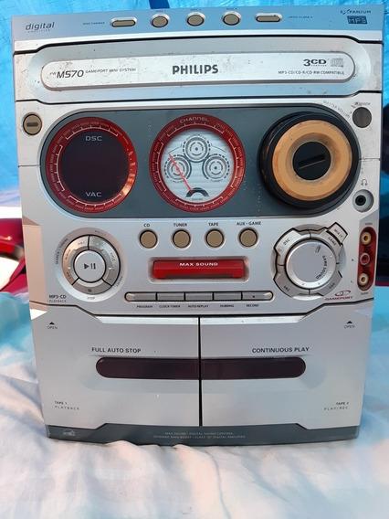 Som Philips Fwm 570/19 (com Defeito)