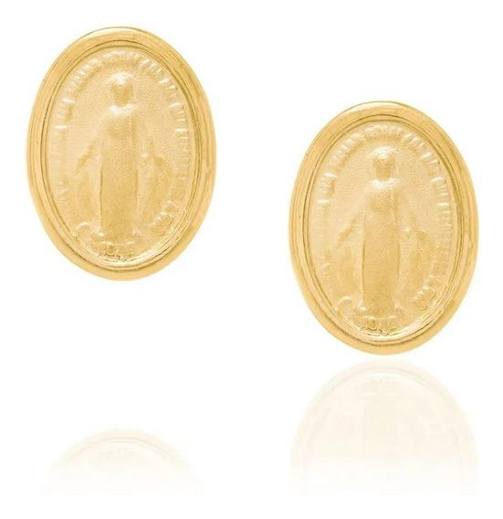 Brinco Medalha Rommanel Nossa Senhora Das Graças 522775.