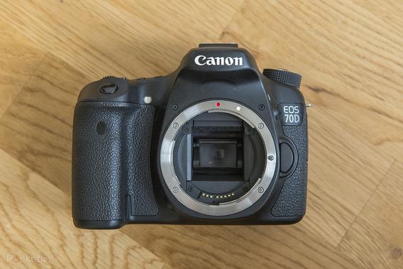 Canon 70d + Lente 24-105 F4 + 50mm 1.8 + Flash Frete Grátis