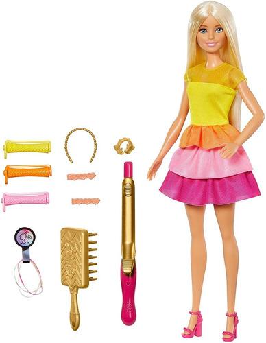 Barbie Set Peinados De Ensueño