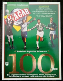 Revista Placar Especial 100 Anos Palmeiras