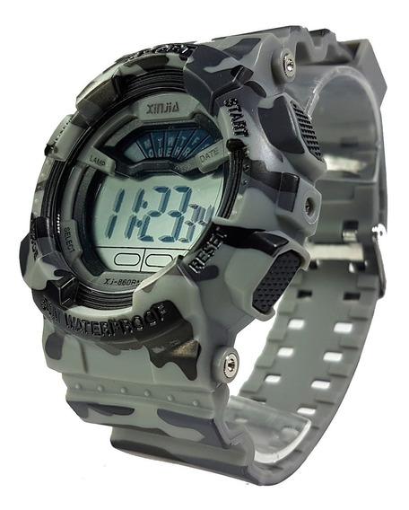 Relógio Tático Militar Estilo G-shock Completo Rest Água Top