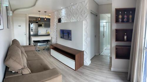 Apartamento Com 2 Dormitórios À Venda, 53 M² Por R$ 295.000 - Residencial Santa Eliza - Valinhos/sp - Ap1000