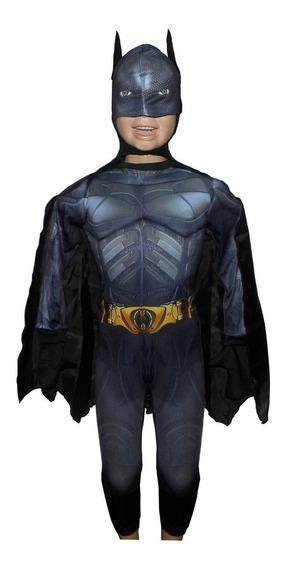 Disfraz Batman Musculoso Ropa Niño