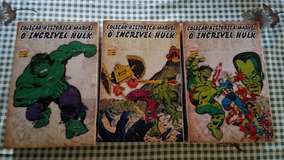Coleção Histórica Marvel O Incrível Hulk 3 Box
