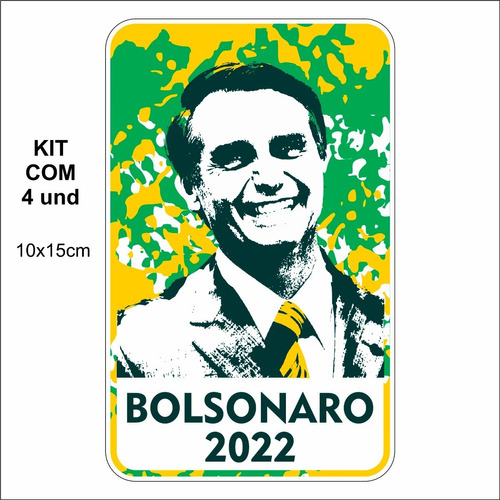 Adesivo Para Carro Bolsonaro 2022