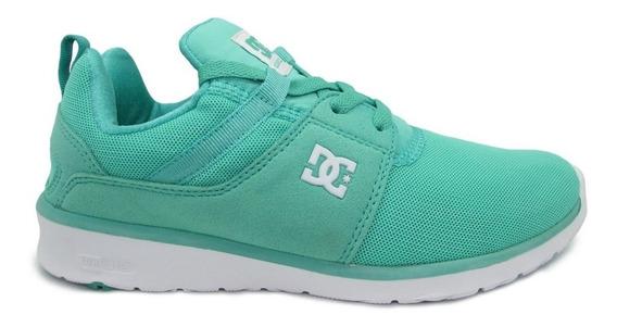 Tenis Dc Shoes Heathrow Adjs700021 Tqw Turquoise White Turqu