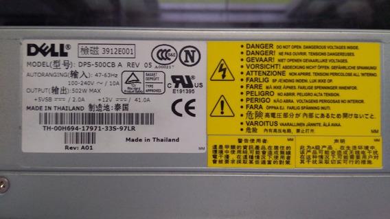 Fonte Servidor Dell Poweredge 2650 502w Dps-500cb-a