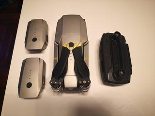 Dji Mavic Pro Platinum C/ 3 Baterias + Muchos Accesorios