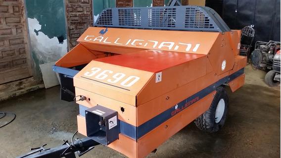Vendo Empacadora (paca Rectangular) Gallignani 3690