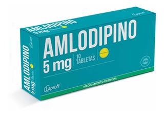 Amlodipino 5 Mg X 60 Tabletas