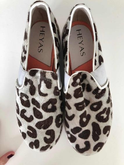Zapatillas Panchas Heyas Animal Print