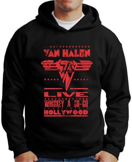Moleton Van Halen Blusa Moletom Casaco