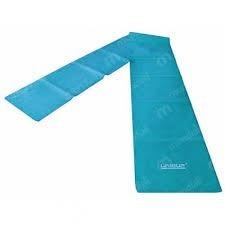 Faixa Elástica Pilates Látex Tensão Forte Azul Liveup