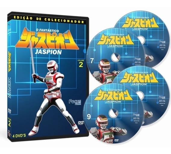 O Fantástico Jaspion Volume 2 (4 Dvd