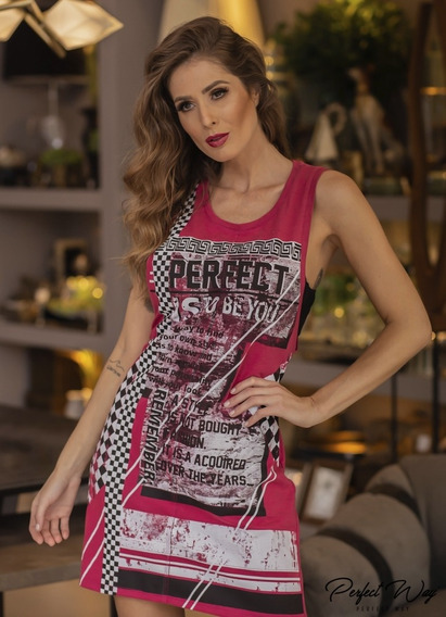 Vestido Estamp.exclusiva Perfect Way Rv96054