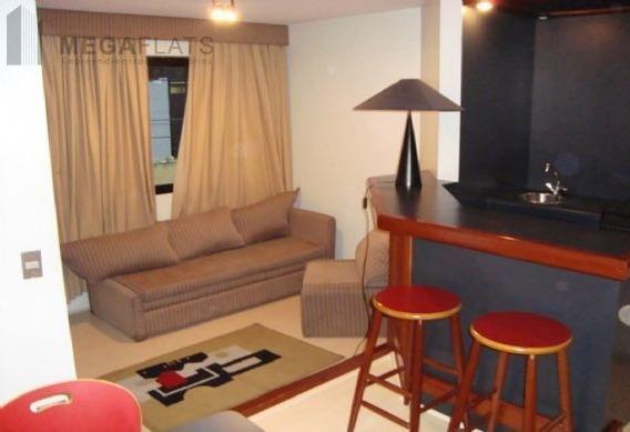 01443 - Flat 1 Dorm. (1 Suíte), Brooklin Novo - São Paulo/sp - 1443
