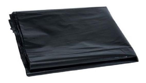 Saco Preto 75x105cm + Lacres 4,8x200mm - 100 Unidades