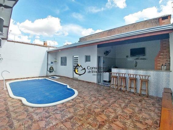 Casa Com 3 Dormitórios À Venda, 230 M² Por R$ 480.000,00 - João Aranha - Paulínia/sp - Ca0632