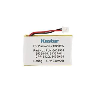 Batería Kastar 37v 240mah 1 Paquete Para Plantronics Cs50 C