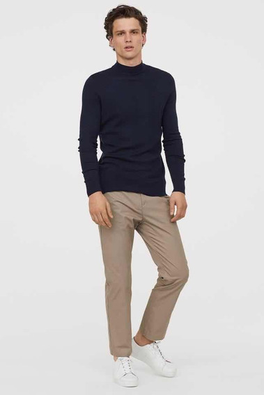 Pantalon Chino Skinny Fit H&m