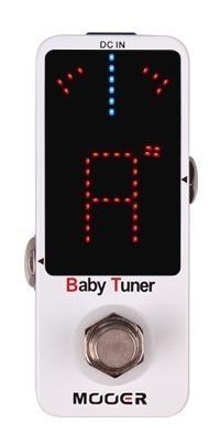 Pedal Guitarra Afinador Mooer Baby Tuner T By Pass Cromático