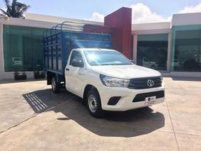 Toyota Hilux 2.7 Chasis Cabina Mt 2016 Blanco