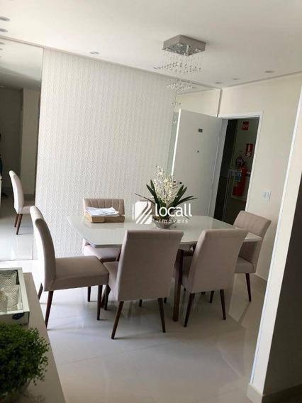 Apartamento Duplex Com 3 Dormitórios À Venda, 170 M² Por R$ 450.000 - Higienópolis - São José Do Rio Preto/sp - Ap1785