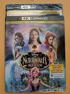 Blu-ray 4k --- The Nutcracker And The Four Realms