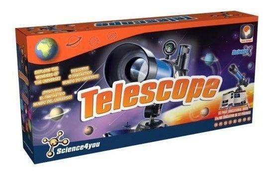 Telescopio Infantil + Livro Microscope Science4you