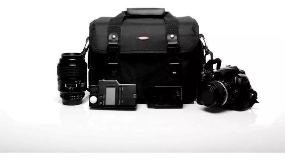 Bolsa Protetora P/ Câmera Dslr Fotografo Pr Nikon Canon Sony