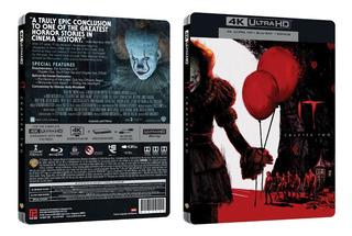 Blu-ray Steelbook 4k --- It Chapter Two