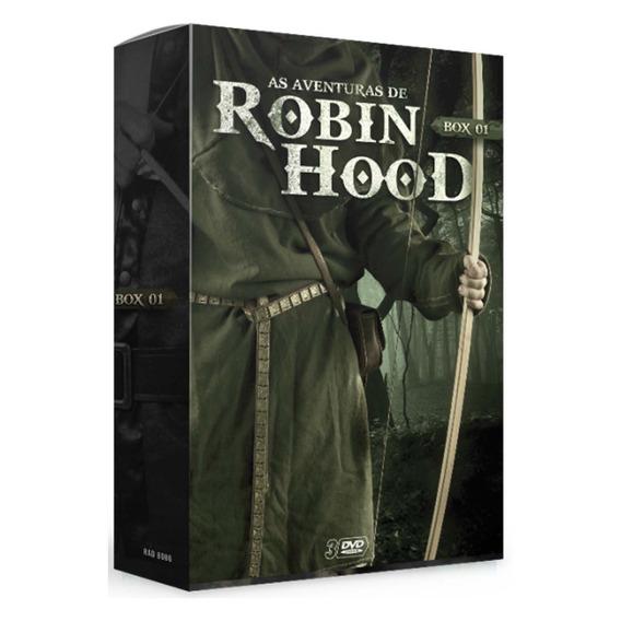 Box Hobin Hood V. 1 (3 Dvds)