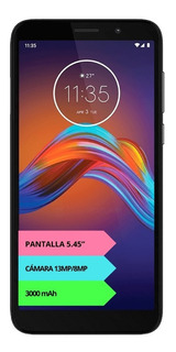 Celular Motorola Moto E6 Play 4g 32gb 2gb Gtia Oficial 12cts