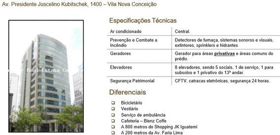 Conjunto Comercial Para Locação Em São Paulo, Itaim Bibi, 1 Dormitório, 8 Banheiros, 15 Vagas - 2707_2-949337