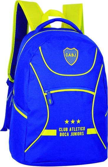 Mochila Boca Juniors 18p Licencia Oficial Original 4 Modelos
