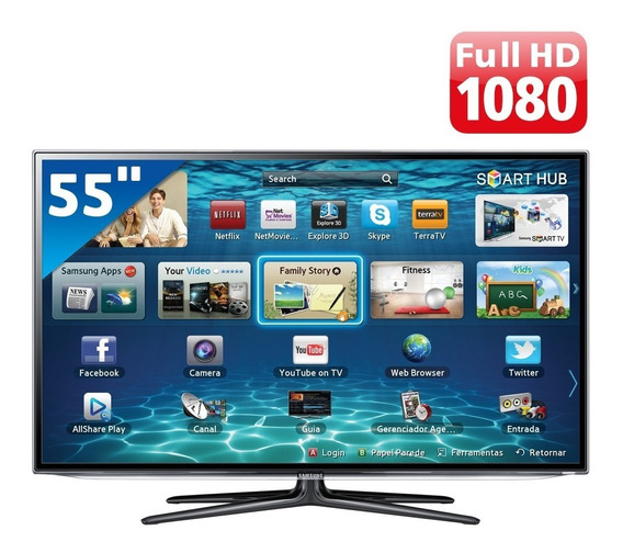 Smart Tv Led 55 Full Hd L55s4900fs 3 Hdmi 2 Usb Wi-fi