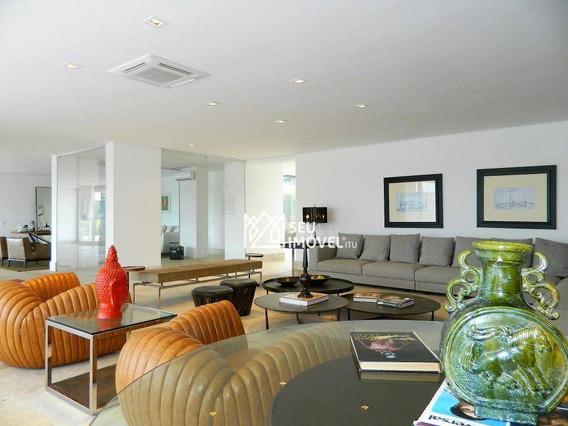 Casa Com 6 Dormitórios Para Venda, 1100 M² Por R$ 20.000.000,00 - Condomínio Fazenda Boa Vista - Porto Feliz/sp - Ca1617