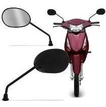 Espelho Retrovisor Moto Honda Mini Twister Bros Fan Pop Cb