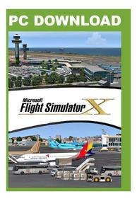 Fsx - Flight Simulator X + Aeronaves & Cenários