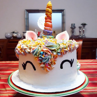Tortas Decoradas Crema Cumpleaños Fiestas Matrimonio Eventos