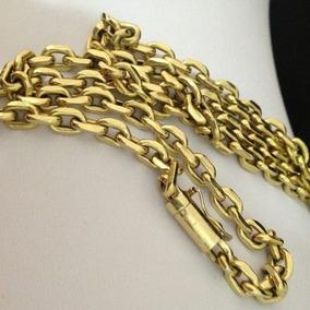 Promoção Corrente Masculina Cartier Em Ouro 18k 70cm 4mm Top