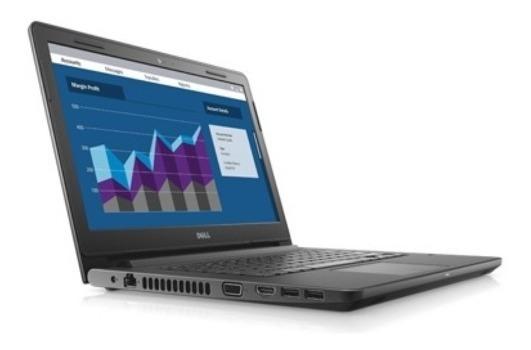 Notebook Dell Vostro 14 3468 Core I3-6006u, 4gb. Linux 500gb