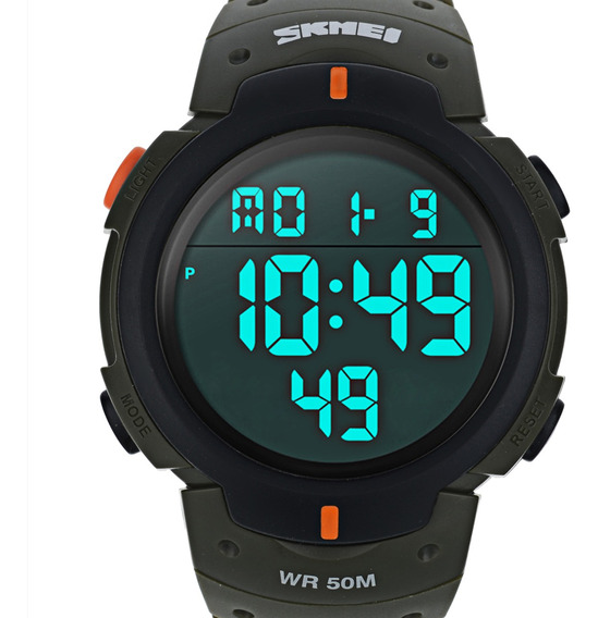Skmei 1068 Men Digital Led Sports Relógio De Pulso
