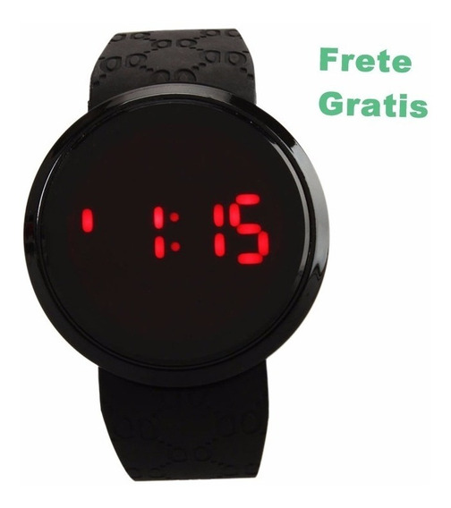 Relógio Masculino Digital Led Touch Screen Frete Gratis Aqui